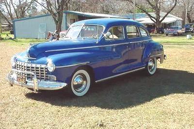 1948 dodge coronet i for 1948 dodge 2 door sedan